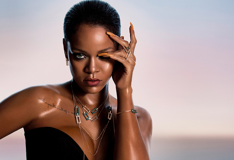 Rihanna Opens Up About Her New Jewelry Collaboration with Chopard