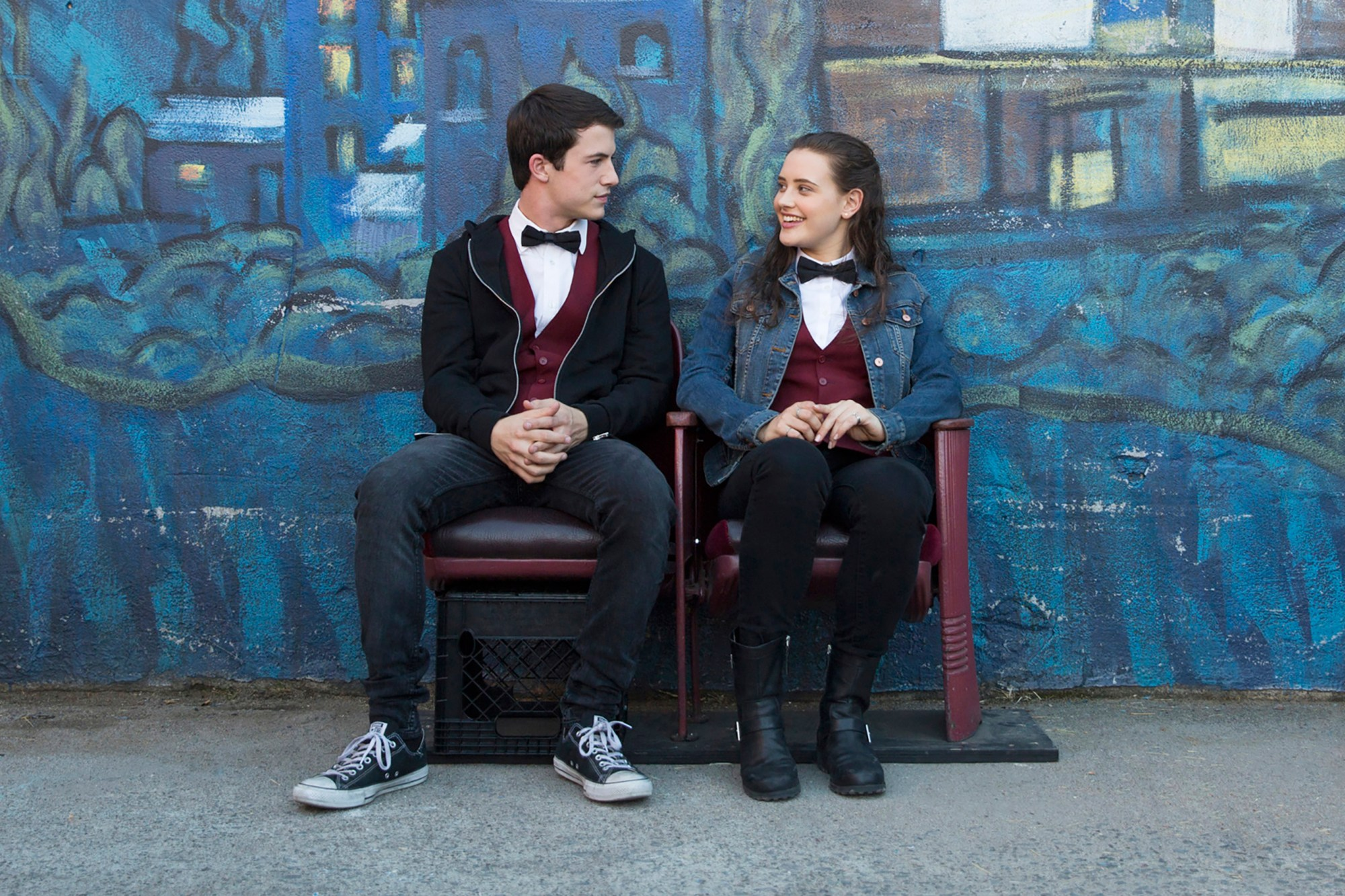 scene from 13 reasons why Entertainment Weekly