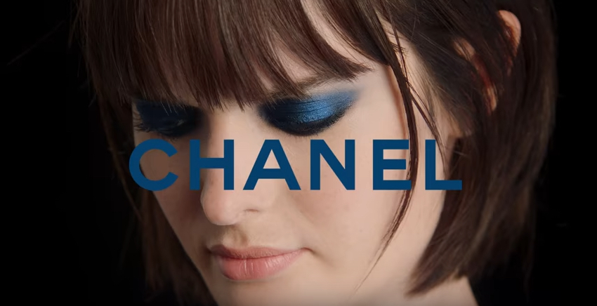 How to (Easily) Create a Striking Blue Beauty Look, Courtesy of Chanel