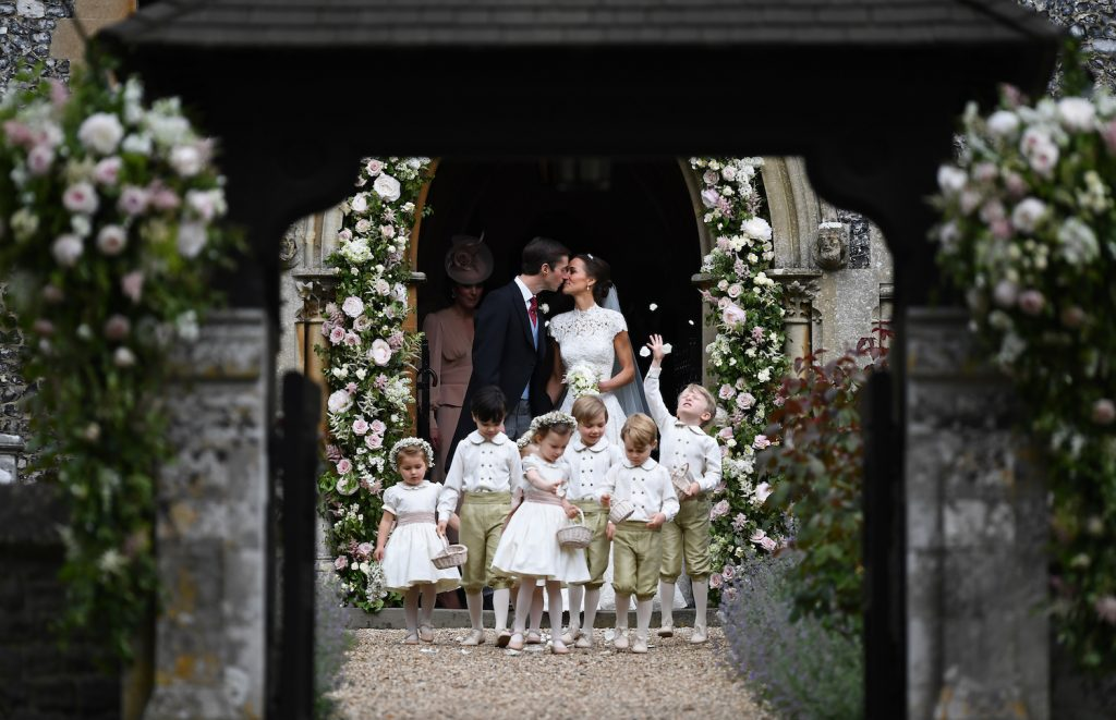 The Wedding Details That Made Us Love Pippa Middleton (Even) More