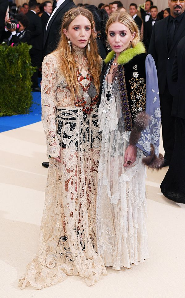 Mary Kate and Ashley Olsen and Met Gala 2017