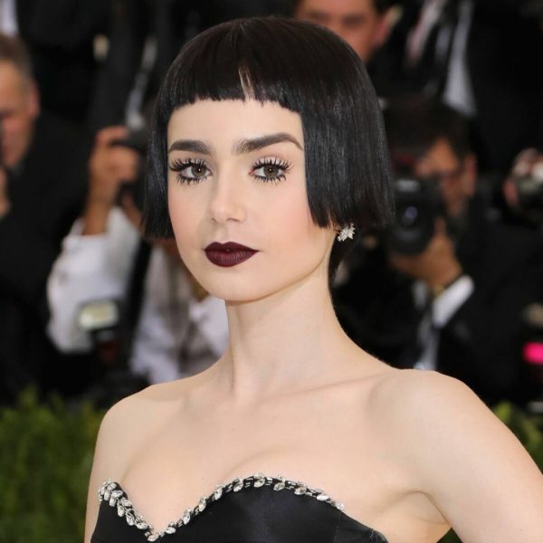 Met Gala Beauty Lily Collins