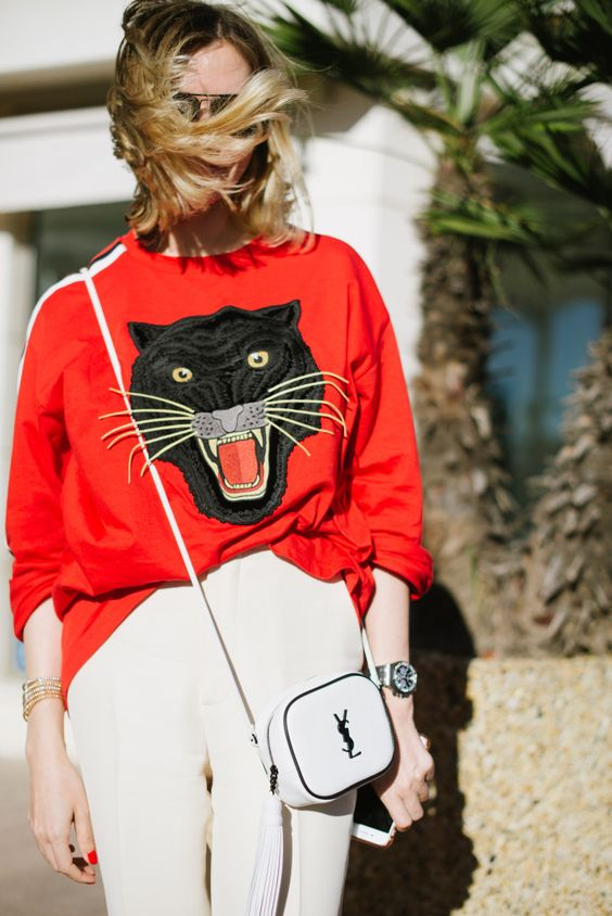 Animal themed street style