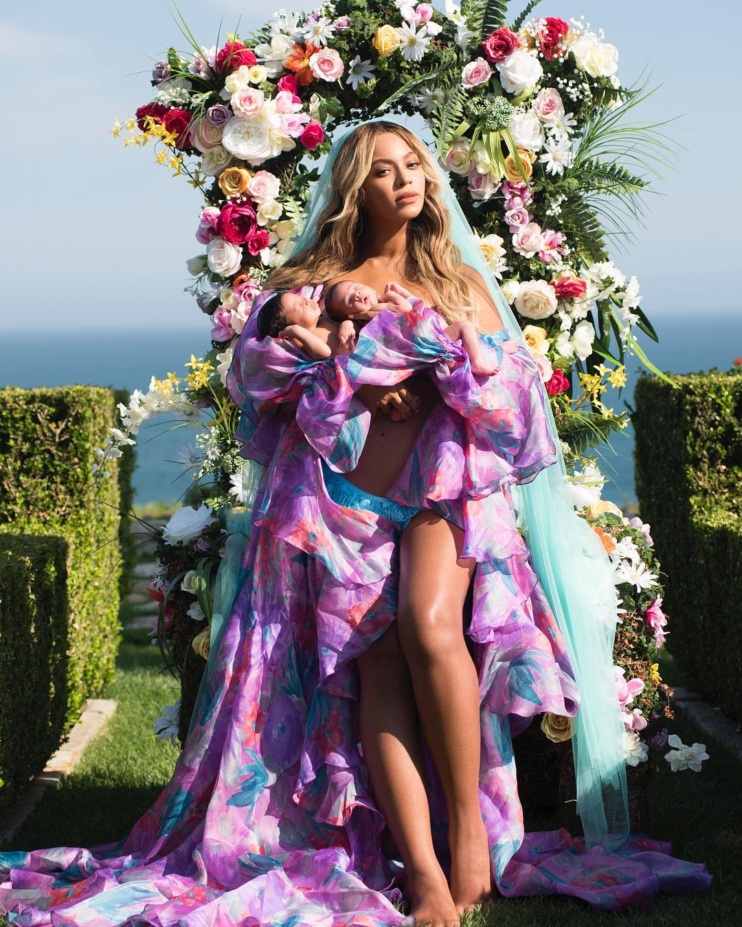 Beyonce birth announcement