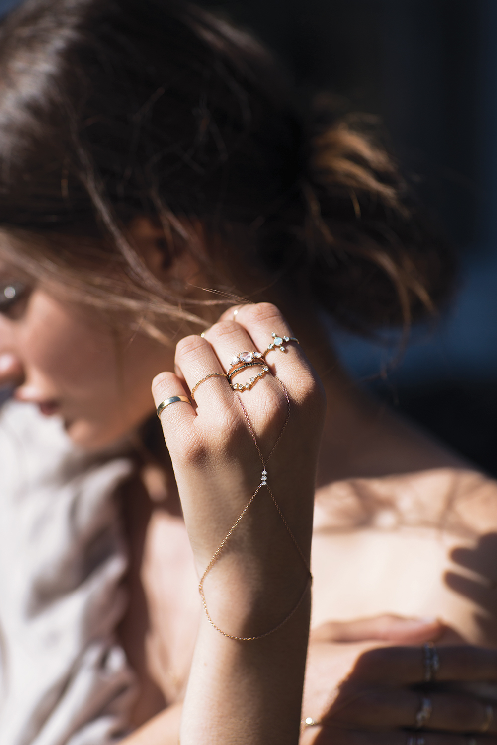 Catbird stacking jewelry