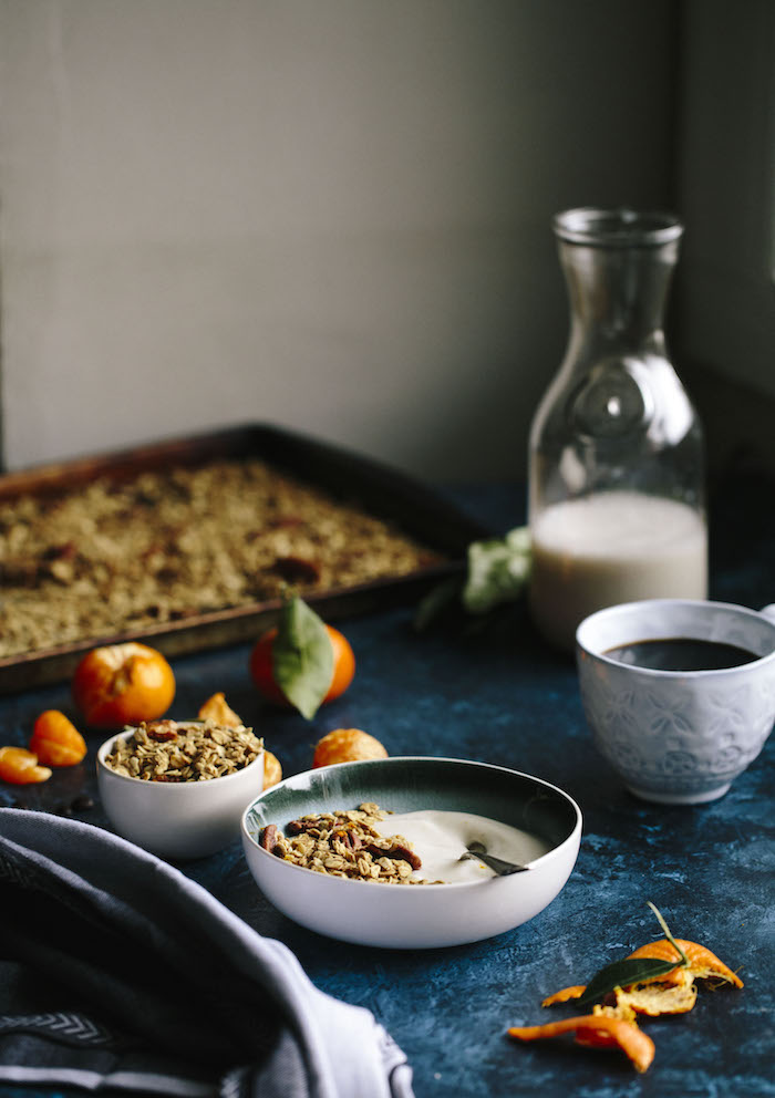 Coffee Orange Granola