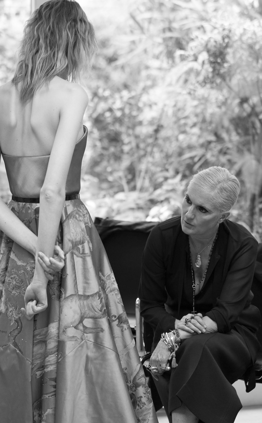Dior Haute Couture Making Of Image - Fall/Winter 2017