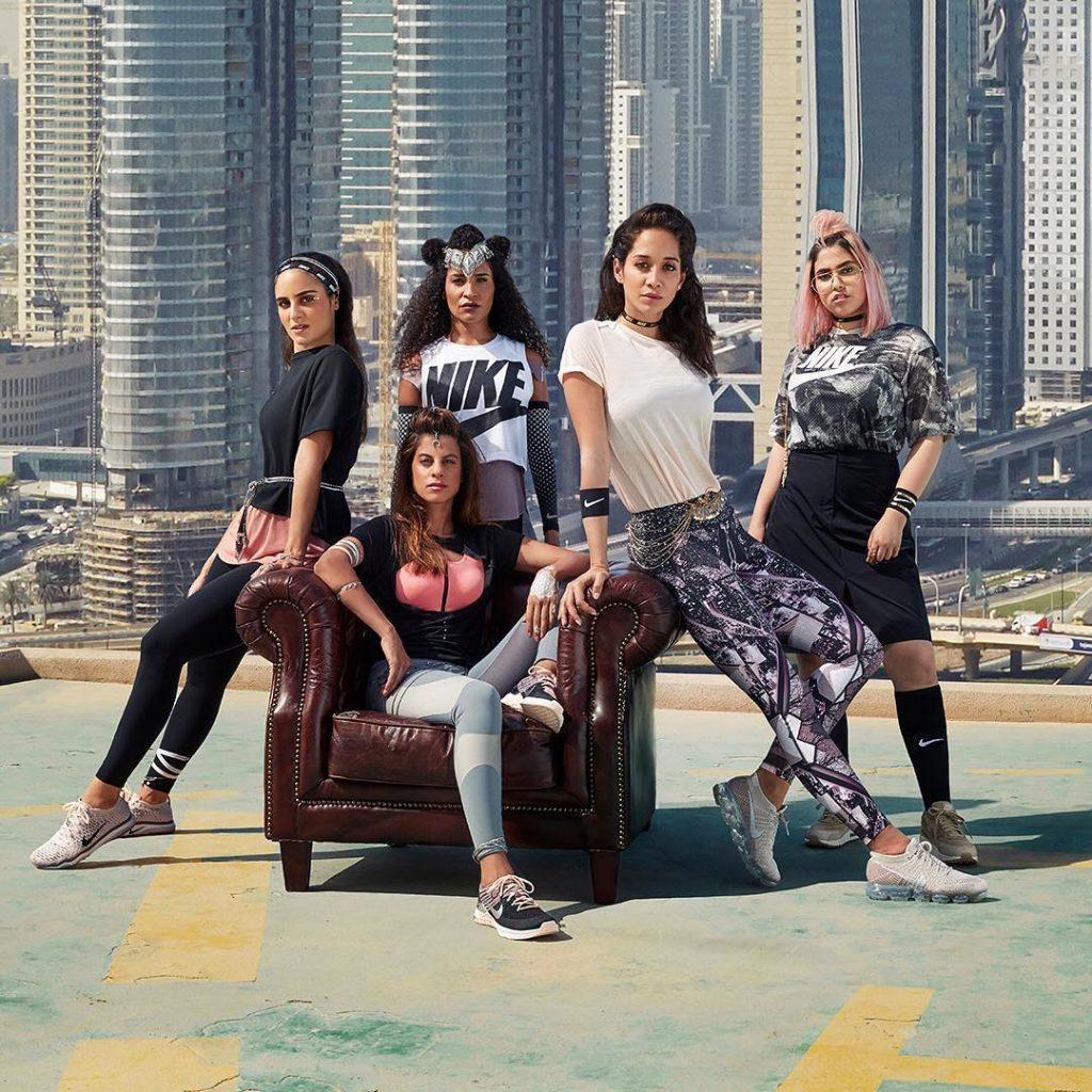 Meet the 5 Middle Eastern Women You'll Be Seeing on Nike Billboards