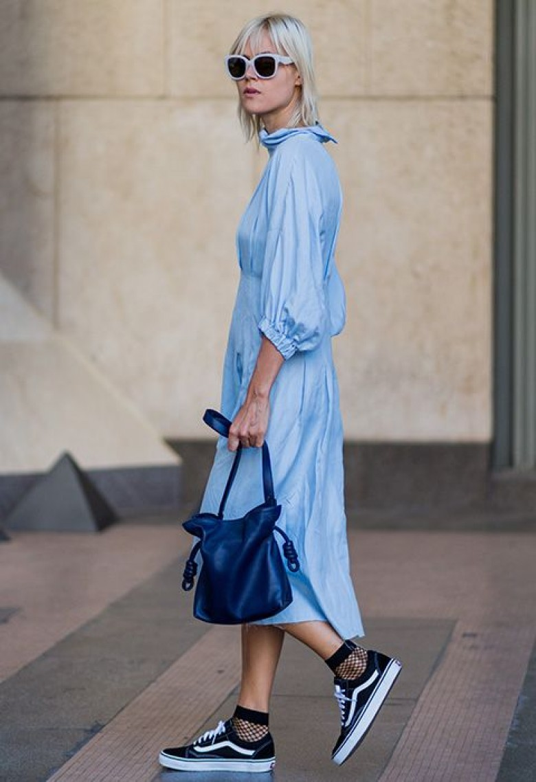4426dd63db76f How to Wear Socks and Heels Like Fashion Girls - Savoir Flair