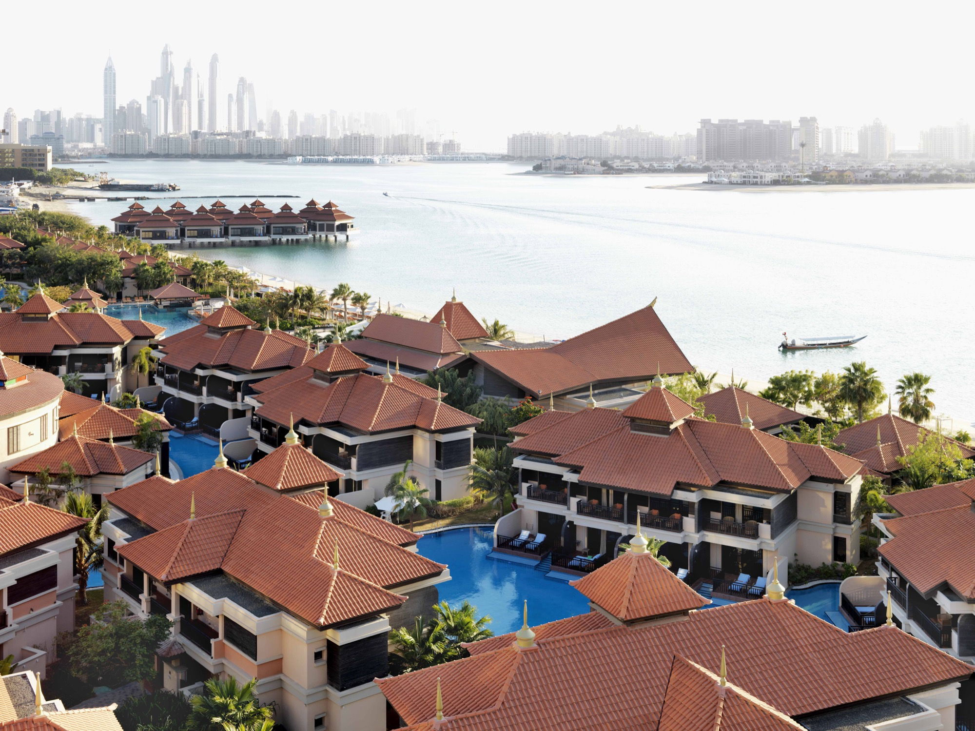 Anantara the palm villas Aerial