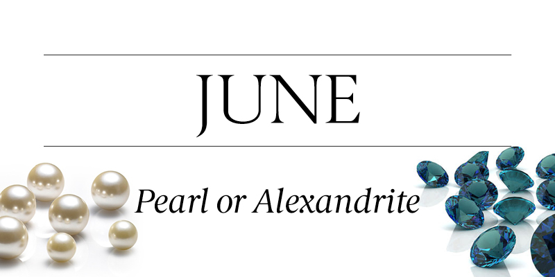 Birthstone Beauty June Pearl Alexandrite
