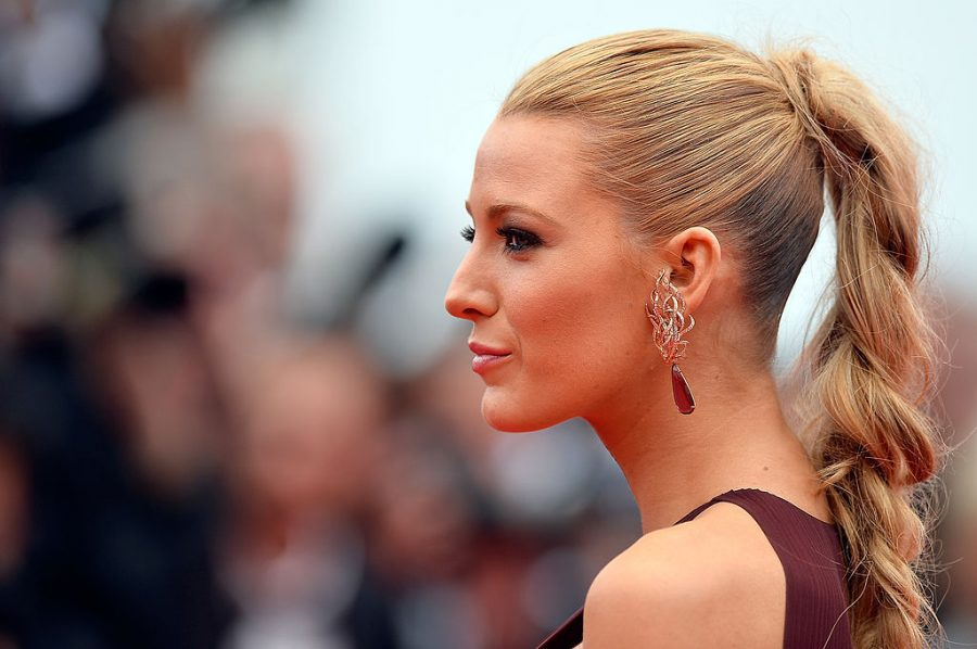 Blake Lively Beautiful Hair Braids