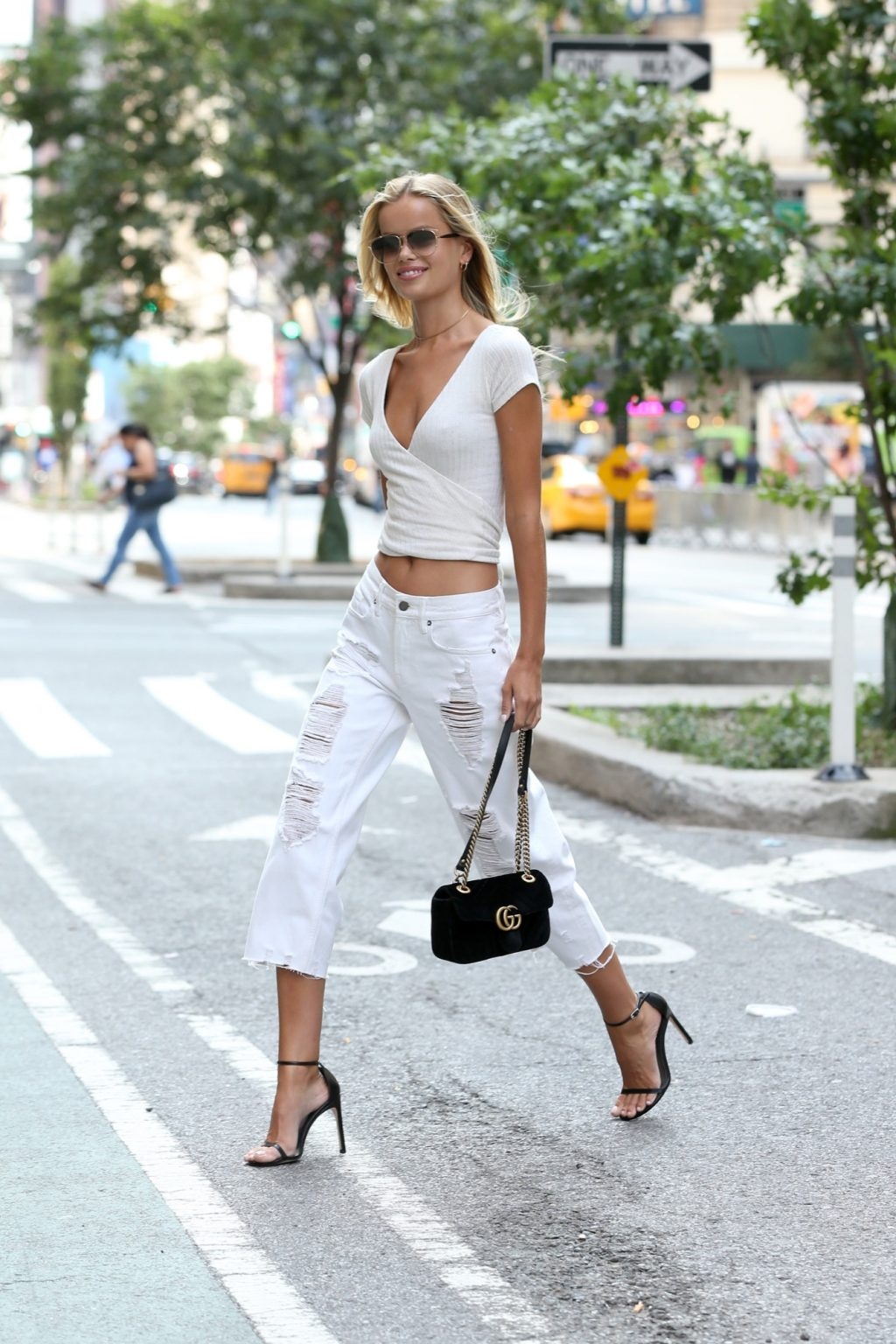 The Victoria's Secret Models Just Inspired Our Entire September Wardrobe