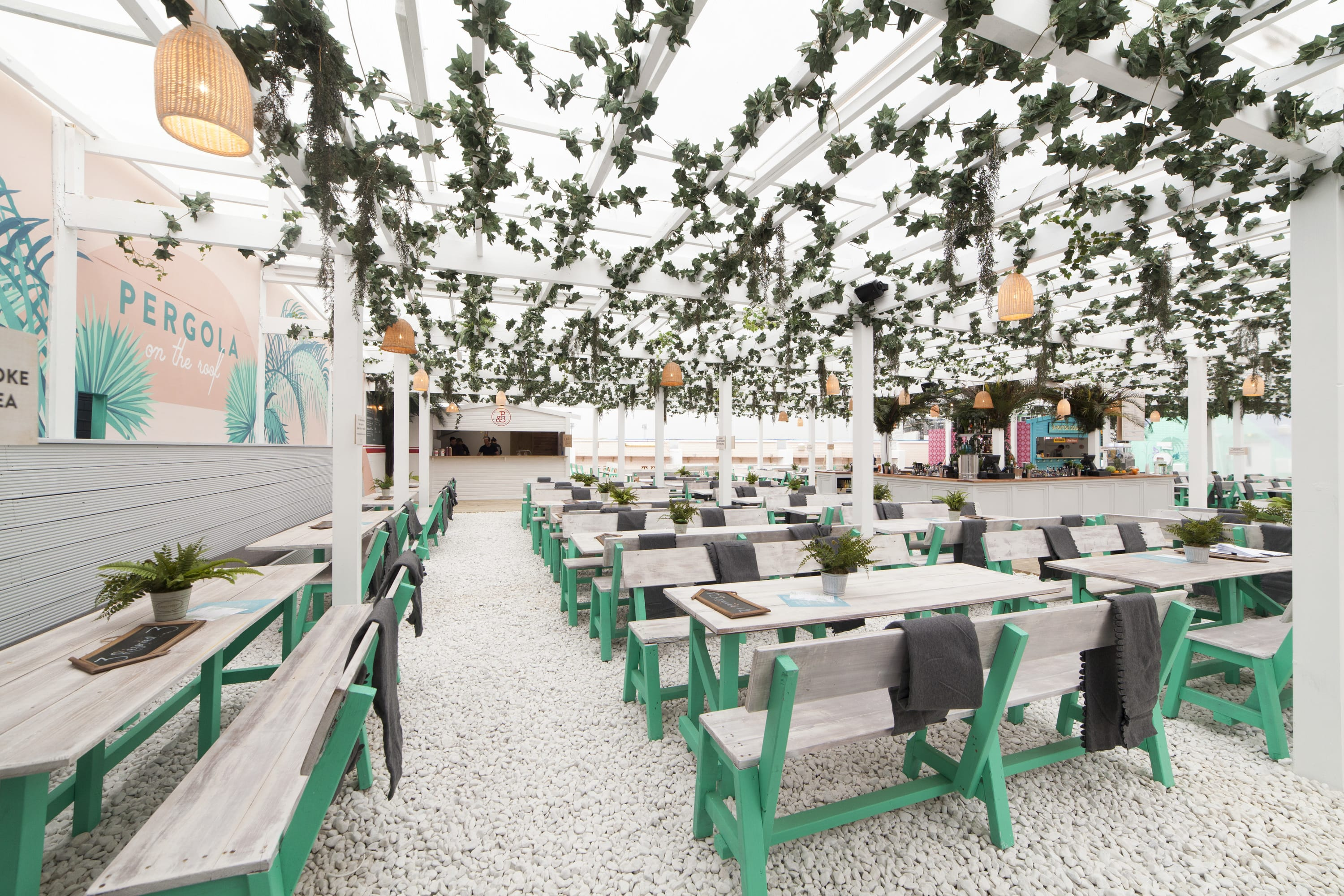 pergola on the roof london