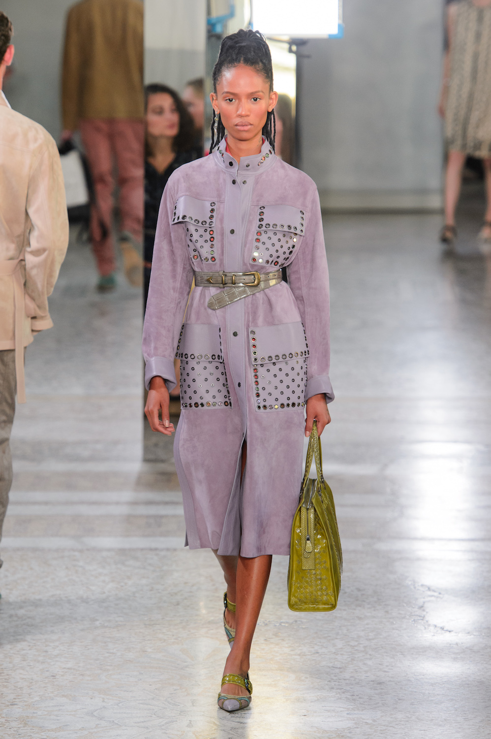 Bottega Veneta Embraces the Pastel Rainbow for Spring/Summer 2018