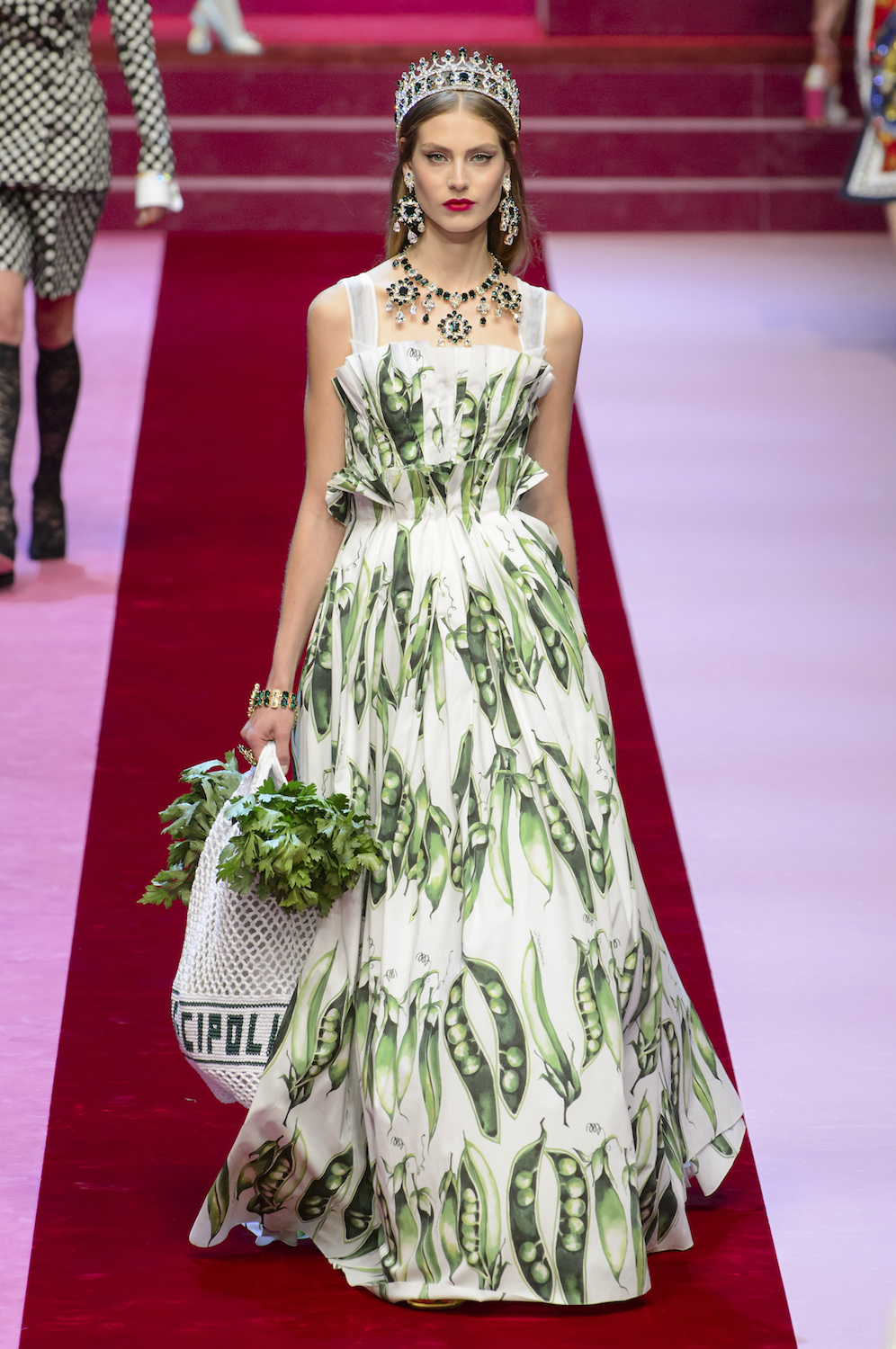 Dolce & Gabbana Gambles on Love for Spring/Summer 2018