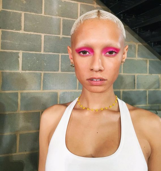 House of Holland LFW SS18 Beauty