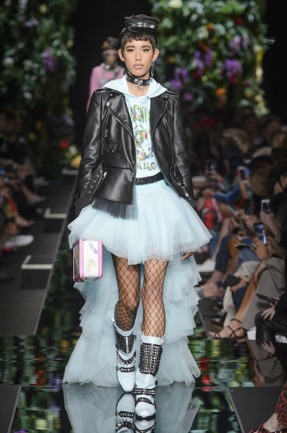 Moschino Says It With Flowers for Spring/Summer 2018