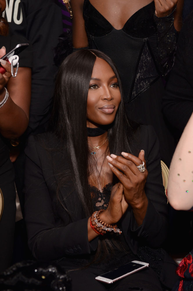 Naomi Campbell at the Pat McGrath Mothership Ball