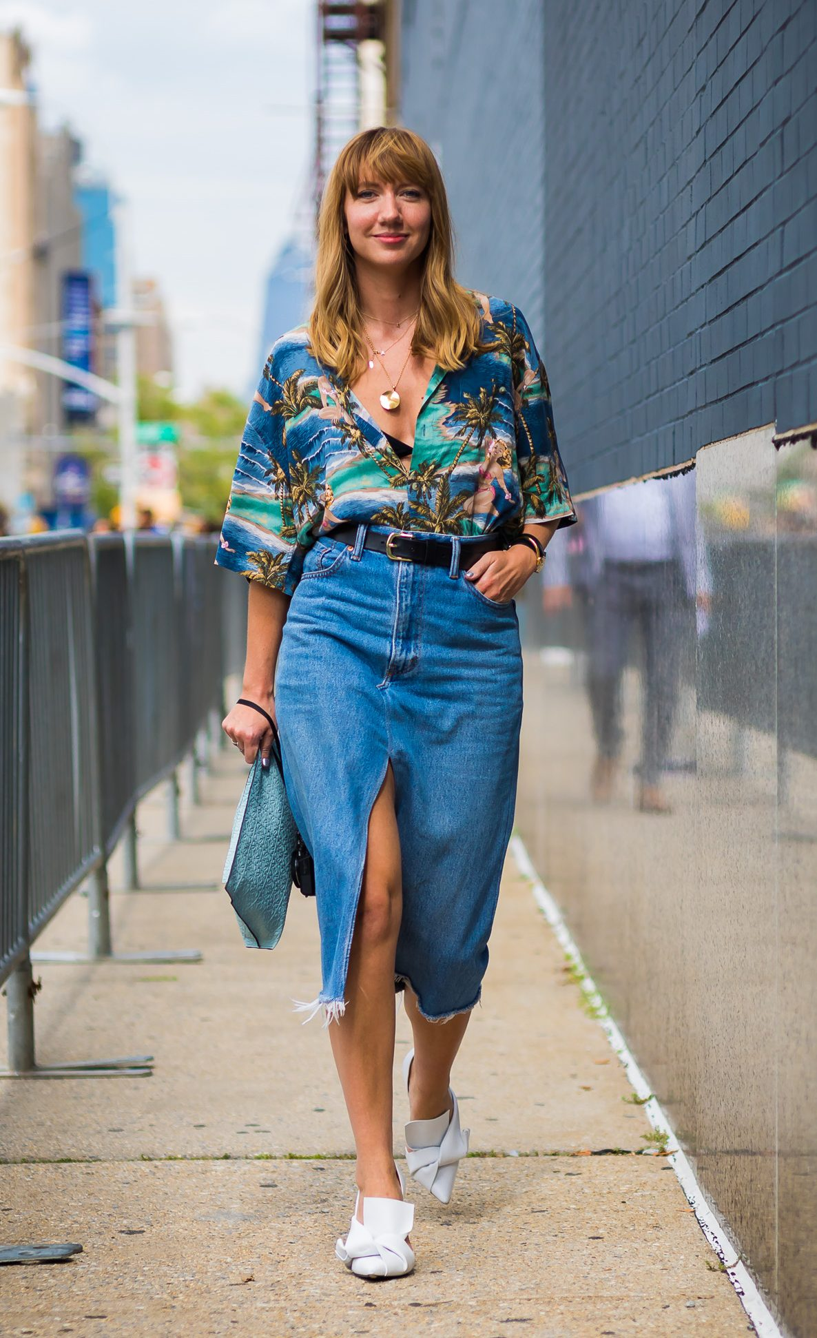 Style Du Monde Denim Skirt for Weekend