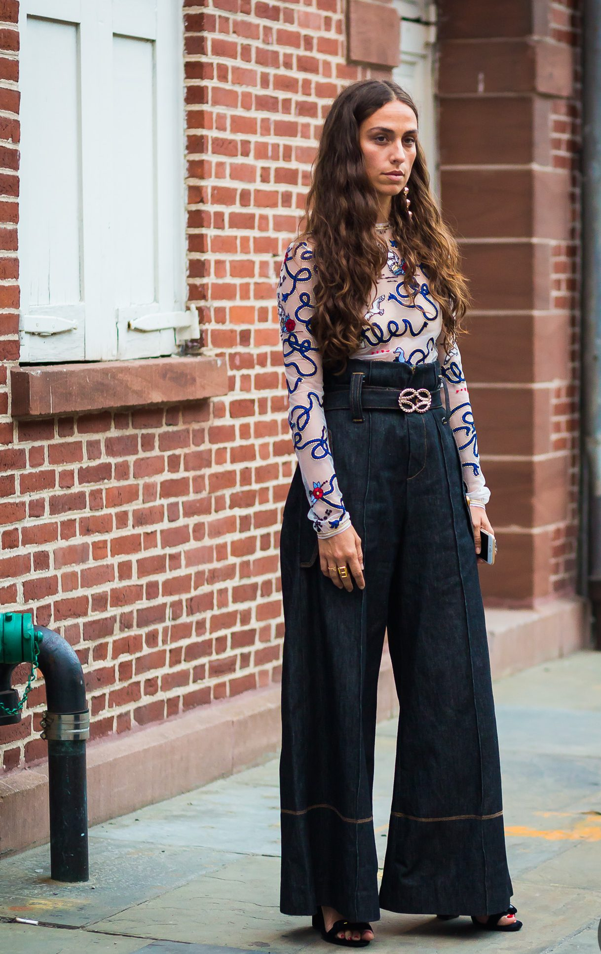 Style Du Monde Street Style Denim For Party