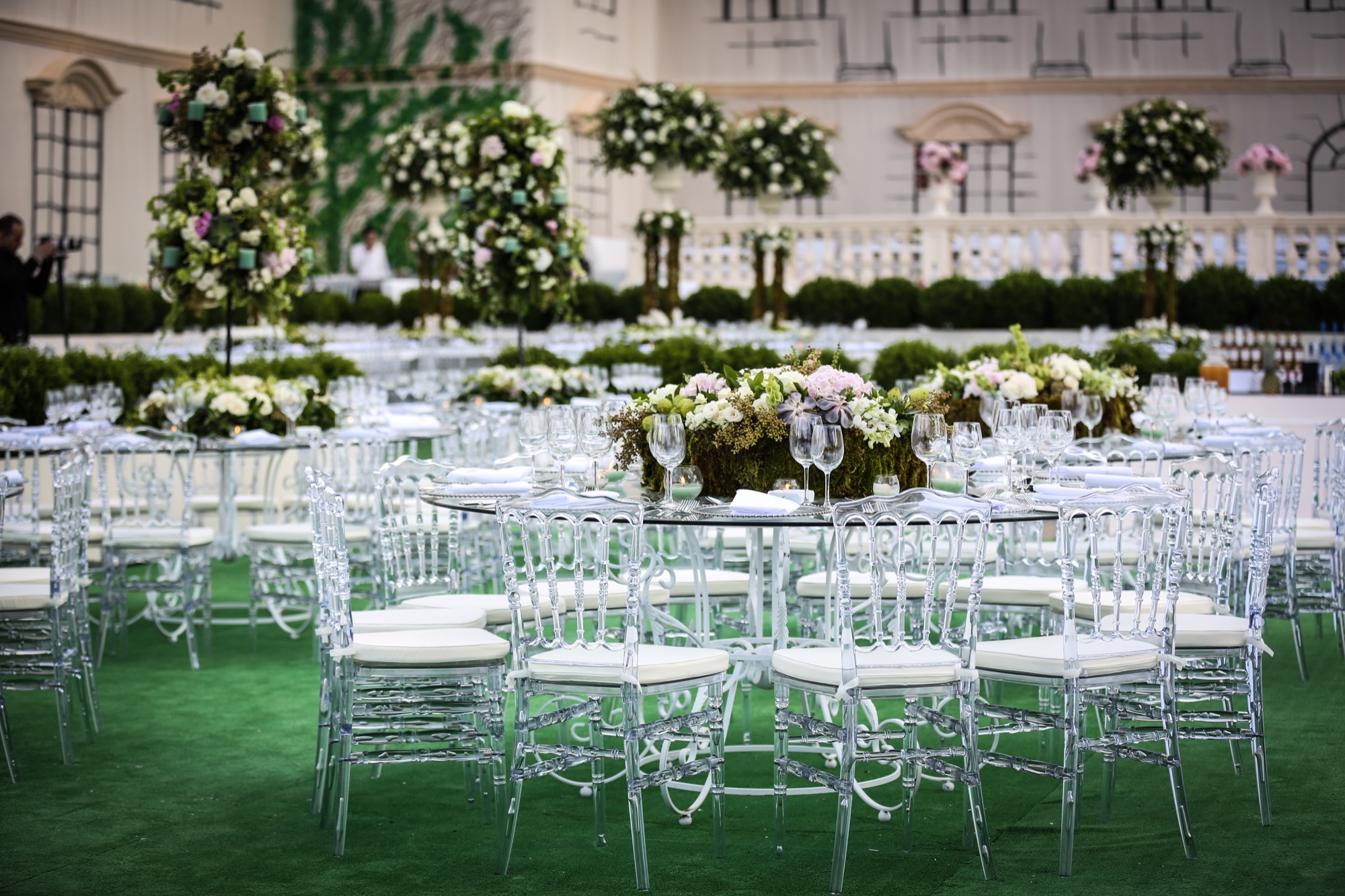 jessica wazen wedding tables