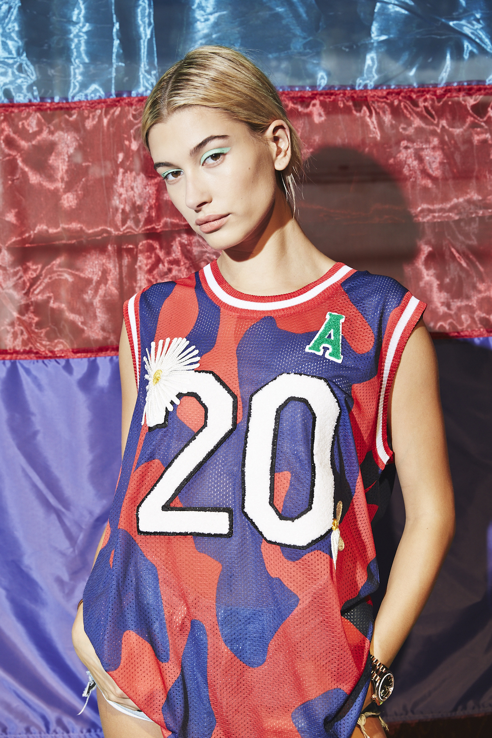 Hailey Baldwin Missoni 20th-anniversary capsule collection