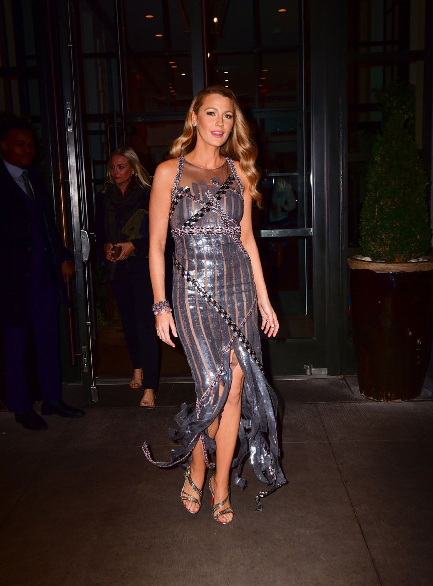 Blake Lively In Vintage Chanel Couture