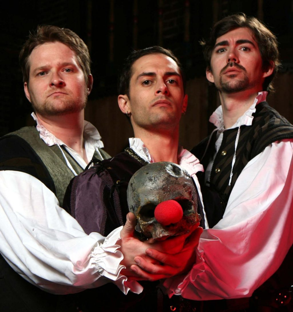 shakespeare abridged stage show