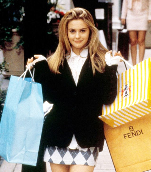 Cher Horowitz shopping