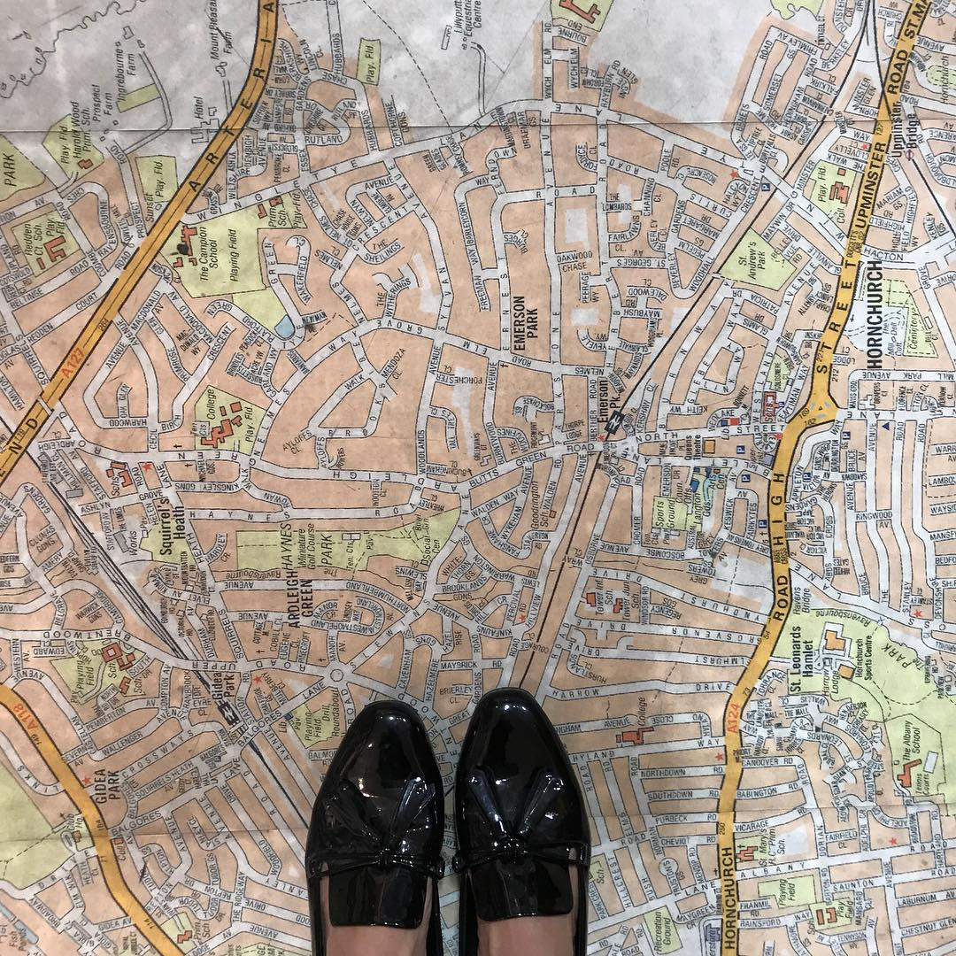 floor ground map standfords london