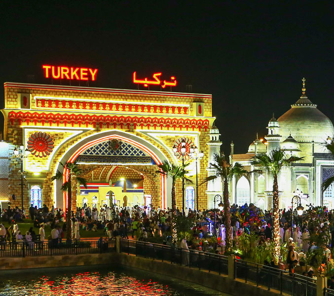 global village pavillions Turkey