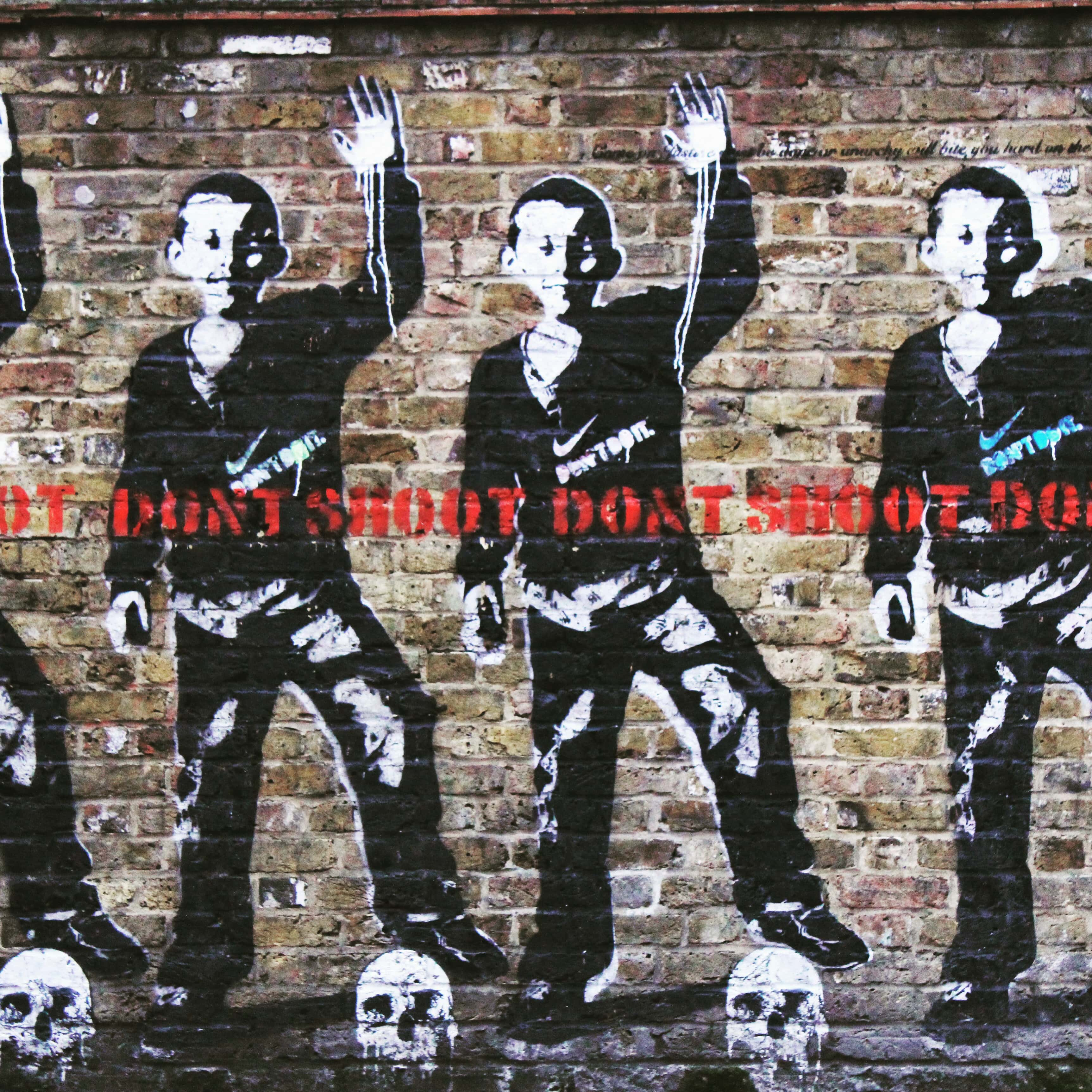 london street art dont shoot artist bambi-min