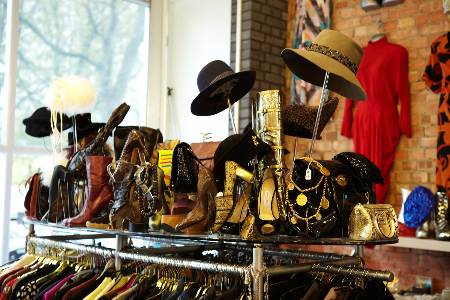 rellik london vintage clothing shoes shop