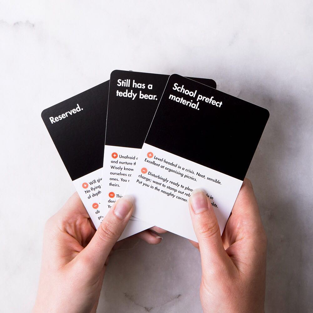 school of life london card game