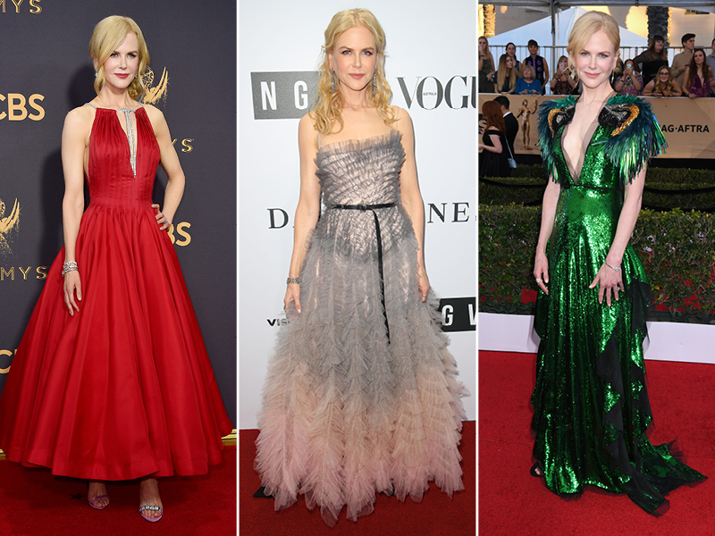2017 Best Dressed Celebrities Nicole Kidman