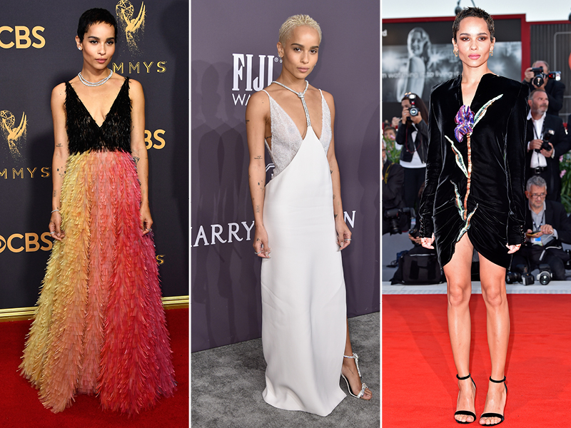 2017 Best Dressed Celebrities Zoe Kravitz