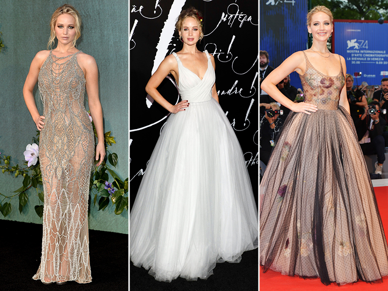 2017 Best Dressed Celebrities Jennifer Lawrence