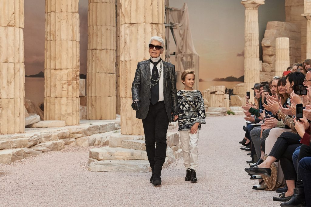 In His Words: Lagerfeld on the Reason Behind His Cruise 2018 Inspiration