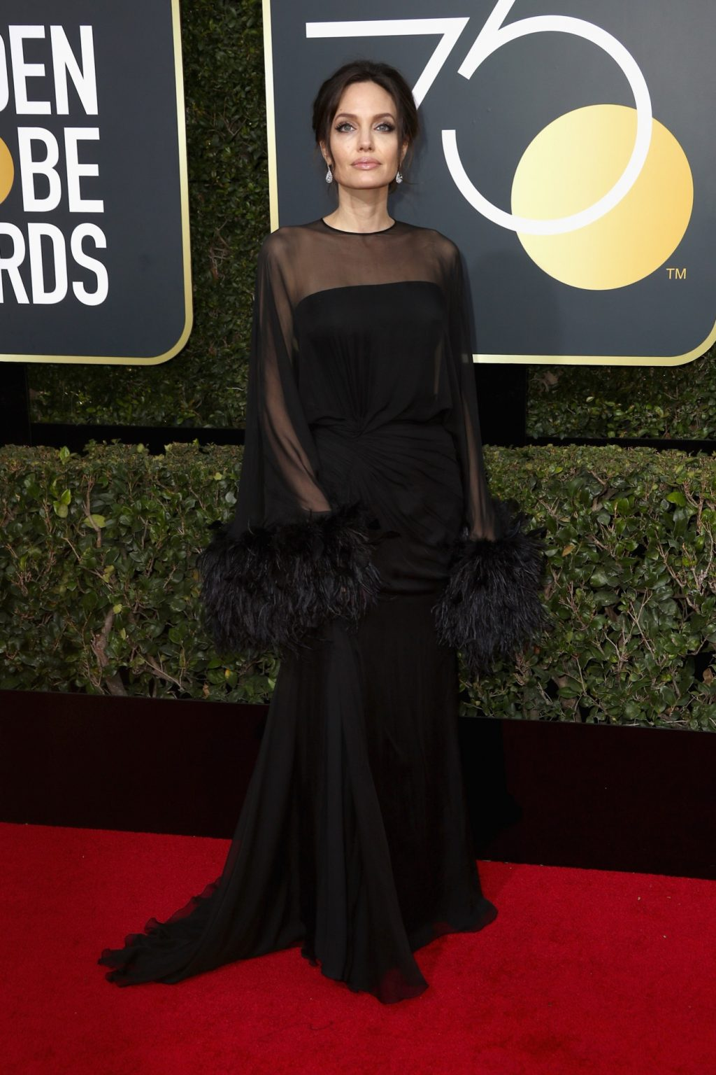 The Best All-Black Red Carpet Looks from the 2018 Golden Globes