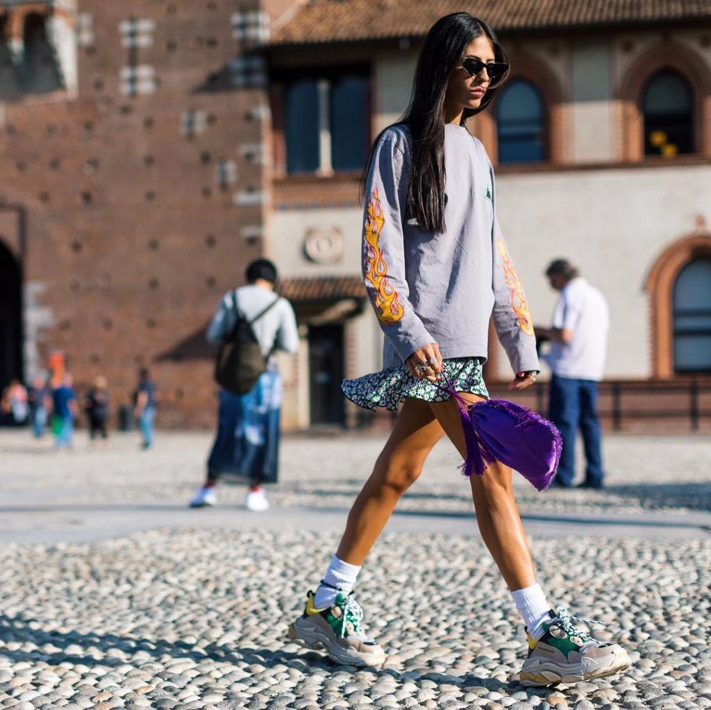 Fashion Girls Are Obsessed with These Sneakers for 2018