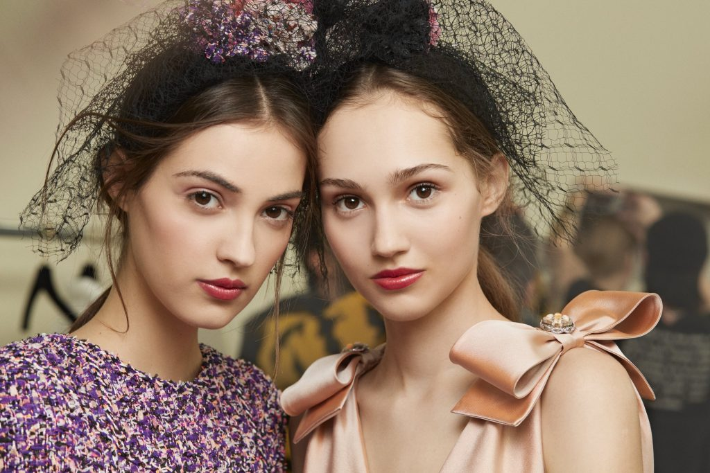Blushing Beauties: How to Recreate Chanel's Couture Beauty Look