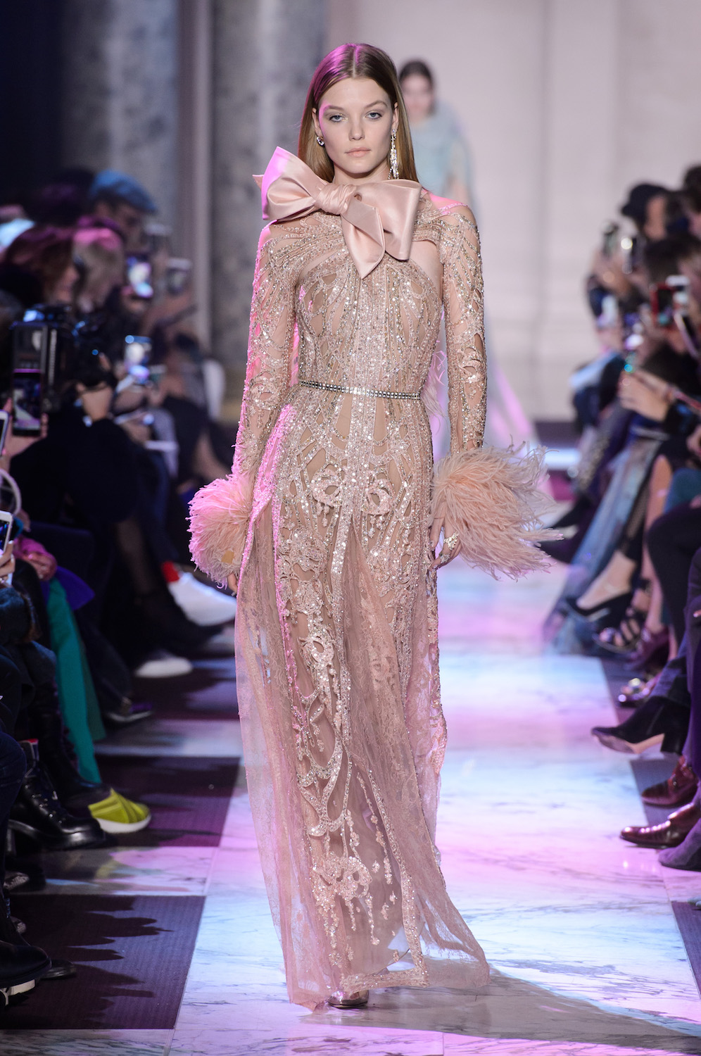 Runway Review for Elie Saab Spring 2018 Couture - Savoir Flair