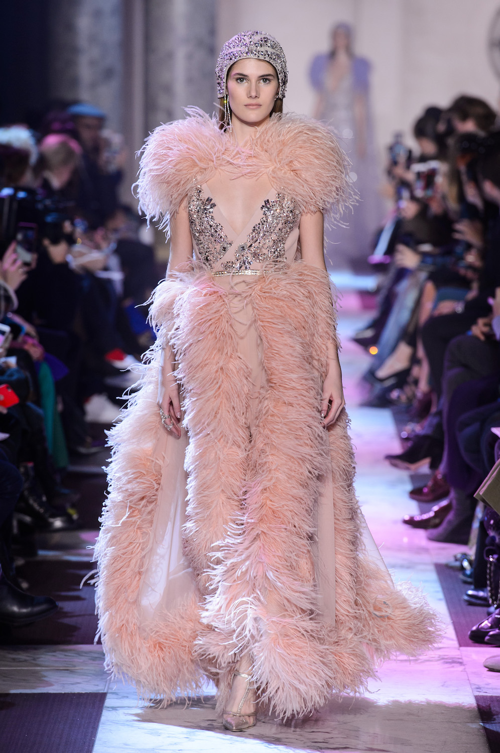 Elie Saab's Dazzling Ode to Paris in the 1920s for Spring 2018 Couture