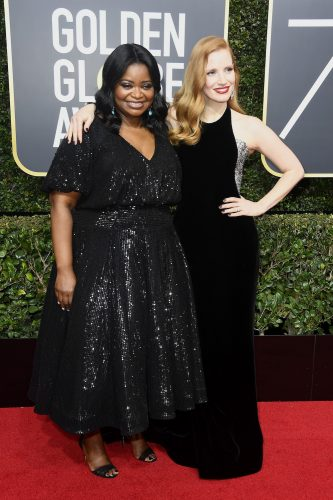 Octavia Spencer and Jessica Chastain