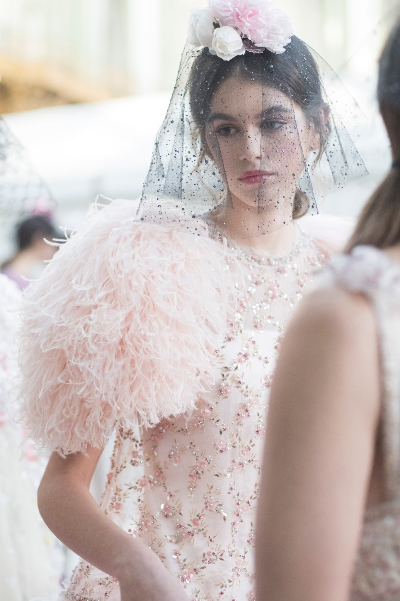 Kaia Gerber Chanel Thumbnail SS18 Couture