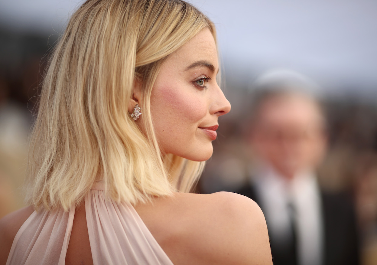 Margot Robbie 2018 SAG Awards Beauty