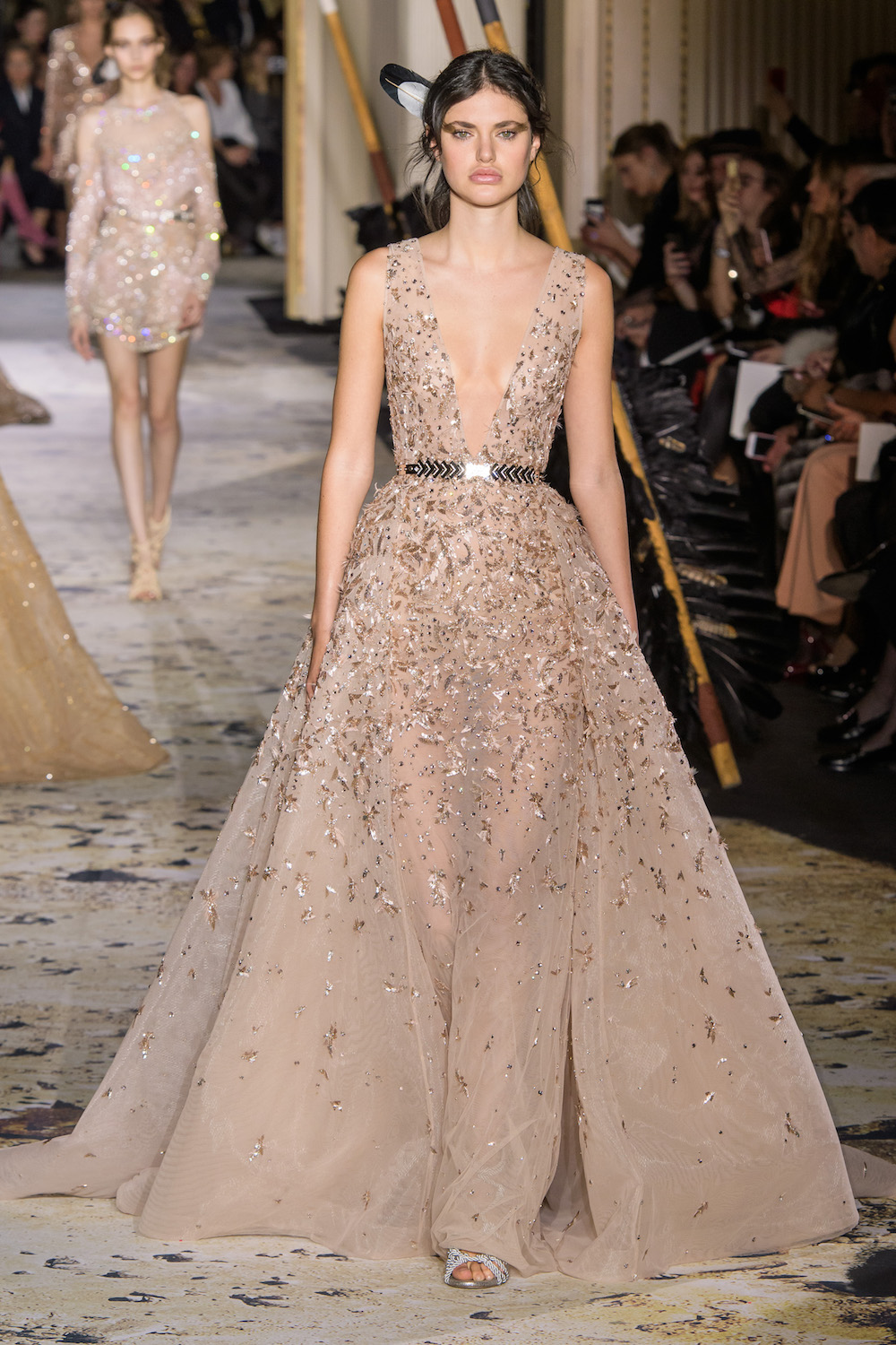 Zuhair Murad Goes Tribal for Spring 2018 Couture