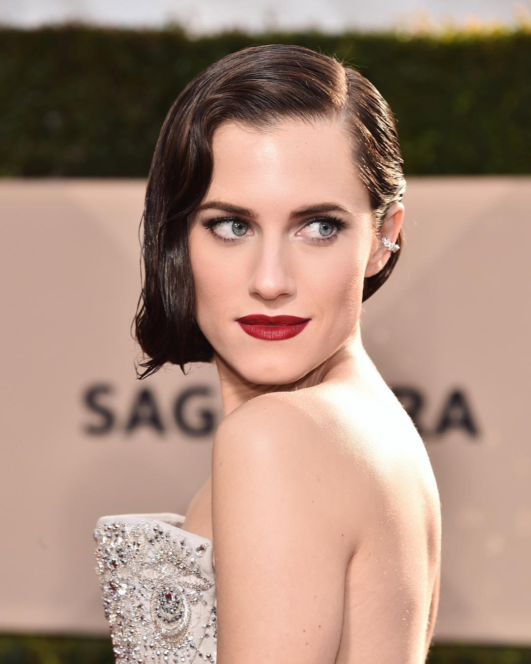SAG Awards 2018 Beauty Allison Williams