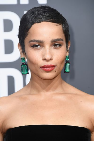 Zoe Kravitz 2018 Golden Globes